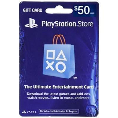 50Dollar PSN Card Live FY17