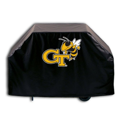 Covers by HBS Georgia Tech University Grill Cover with Wasp Logo on Stylish Black ()