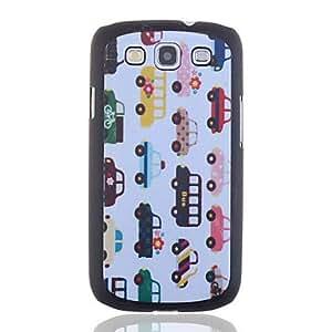 conseguir Precioso Coches Diseño Caja de policarbonato para Samsung S3 I9300