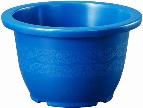 大和プラスチック 鉢ポット りん鉢 18号 φ550×H330 ブルー B006VP8ELU 18号 ブルー ブルー 18号