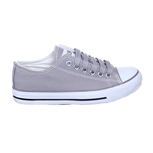 NEW STYLE!! Canvas Sneaker Best Seller (7, grey) [Apparel] - New Styles Shoes