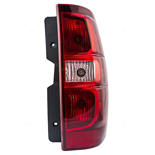 Passengers Taillight Tail Lamp Replacement for Chevrolet Suburban Tahoe SUV (Tahoe Tail Lights Lamps)