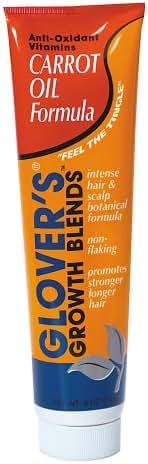 Glover's Growth Blends Anti-Oxidant Carrot Oil Formula