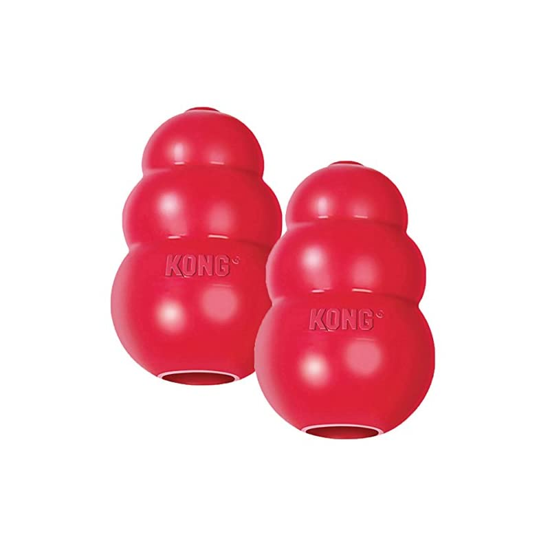 dog supplies online kong classic medium dog toy red medium pack of 2