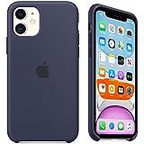 Capa Case Compatível Apple iPhone 11 (6.1 Pol.) Silicone (Aveludado) (Microfibra) Box Lacrada (Midnight Blue)