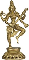 Dancing Saraswati - Brass Sculpture
