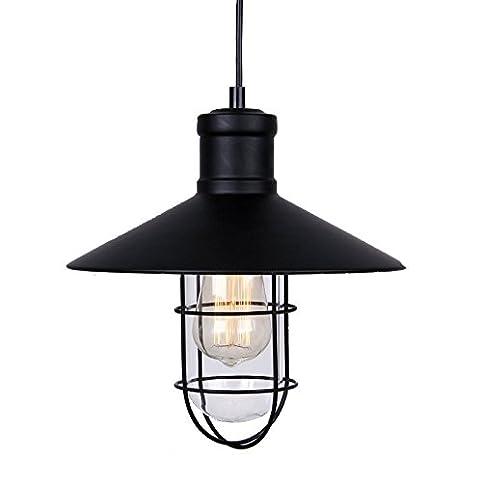 metal shade pendant lighting. winsoon modern vintage industrial black metal loft ceiling light shade pendant glass and metal shade pendant lighting i