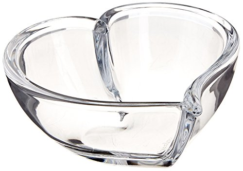 Orrefors Heart 5 Inch Bowl/Votive, Small