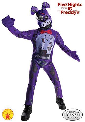Rubie's Costume Boys Five Nights at Freddy's Nightmare Bonnie The Rabbit Costume, Medium, ()