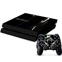Designer Vinyl Skin FPS First Person Shooter Video Game Decal for PlayStation PS4 Console and 2 Free Controller Stickers (Hitman Agent Assassin 138)