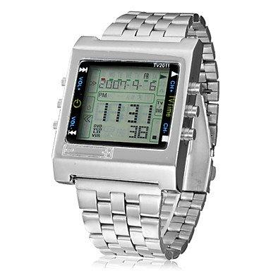 9bfe88a6f3f0 Ropa Reloj (mando a distancia) - Digital - Quartz  Amazon.es  Relojes