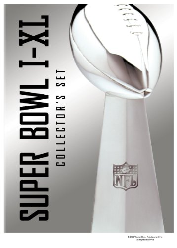 Nfl Super Bowl I Xl Collectors Set