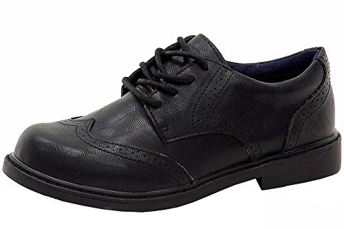 ben-sherman-boys-bernie-black-fashion-oxfords-shoes-sz-15