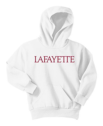 NCAA Lafayette Leopards  Youth Hoodie, White, XS