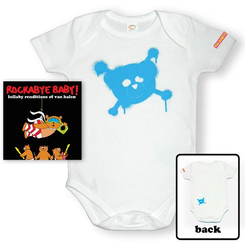 (Rockabye Baby! Lullaby Renditions of Van Halen + Organic Baby Bodysuit)
