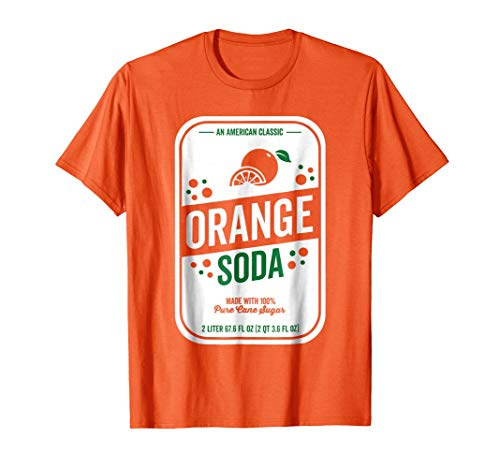 Soda Group Halloween Costume Orange -