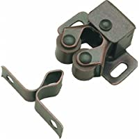 Hickory Hardware P657-STB 1-Inch Catch, Statuary Bronze by Hickory Hardware
