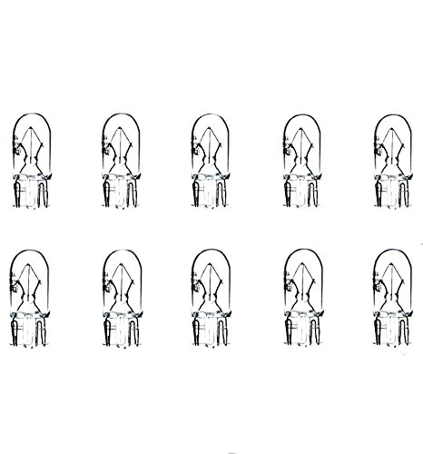 10x W5W T10 12V 5W W2,1x9,5d LAMPEN FALTSCHACHTEL 10 ST/ÜCK STANDLICHT POSITIONSLICHT KENNZEICHEN INNEN FUSSRAUMBELEUCHTUNG Jurmann/® LongLife /& Ersch/ütterungsfest