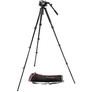 Manfrotto MVK504AQ 504 Aluminum Single Leg Video System (Black) (B00MA6HNHK) | Amazon price tracker / tracking, Amazon price history charts, Amazon price watches, Amazon price drop alerts