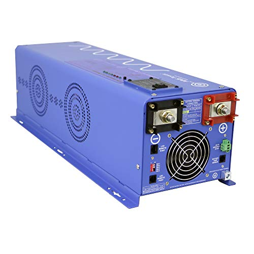 AIMS Volt Sine Charger, Watt Frequency Phase, 18000 Battery Selector, Block,
