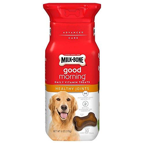 Milk-Bone Good Morning Daily Vitamin Dog Treats – Healthy Joints – 6 oz