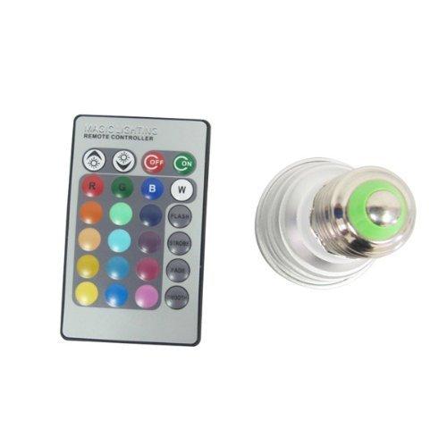 E-but 3W E27 Changement de couleur Light Bulb avec télécommande