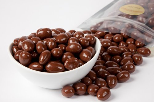 Sugar Free Chocolate Peanuts - Chocolate Covered Almonds (1 Pound Bag) - Sugar Free by Superior Nut Company