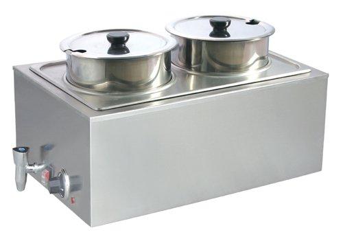 Uniworld FW-1002DV Double Food Warmer