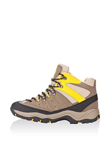 KIMBERFEEL–Zapatos de Senderismo Ossau Caqui–Mixta–caqui Marrón / Amarillo