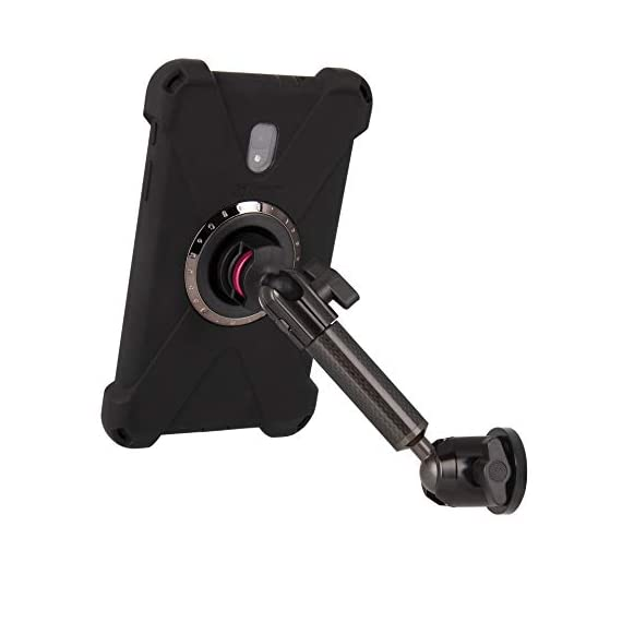 "The Joy Factory MagConnect Carbon Fiber Single Arm Wall/Cabinet Mount w/aXtion Bold M Water-Resistant Rugged Shockproof Case for Samsung Galaxy Tab A 8"" (MWS3021M) - 411h9zbRUJL - The Joy Factory MagConnect Carbon Fiber Single Arm Wall/Cabinet Mount w/aXtion Bold M Water-Resistant Rugged Shockproof Case for Samsung Galaxy Tab A 8″ (MWS3021M)"