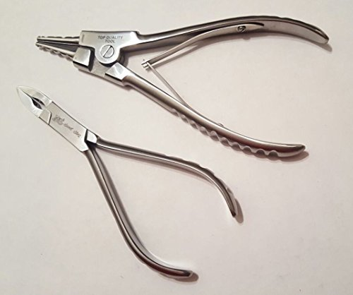 Body Piercing Tools Ring Opening Pliers 6 1/2