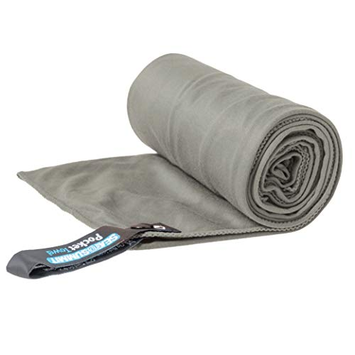 (Sea to Summit Pocket Towel, Grey, Large)