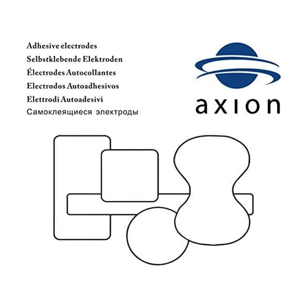 axion - Set di 48 elettrodi 4x4 cm in formato Risparmio con cavetti da 2mm 7 spesavip