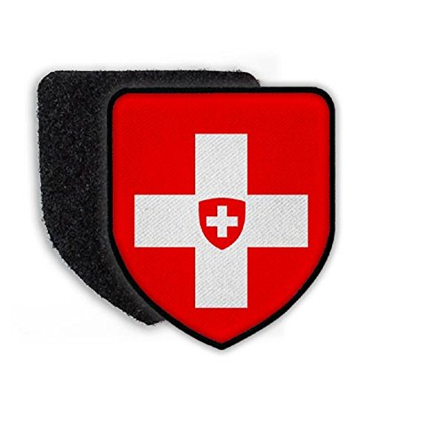 Flag of Swiss country national coat of arms - Patch/Patches