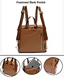 Leather Diaper Bag Backpack Purse by miss