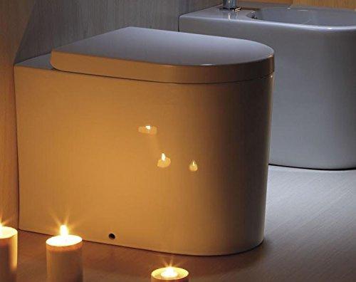 Art-of-Baan® - Design Stand WC Toilette & Soft-Close Sitz, Tiefspüler, 550x360x400mm (2044B)