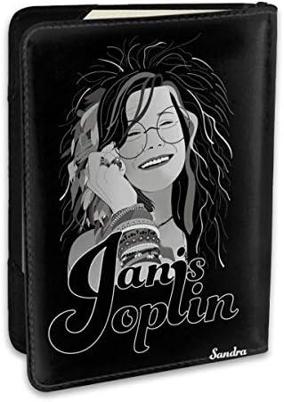 ジャニス・ジョプリン Janis Joplin パスポートケース メンズ 男女兼用 パスポートカバー パスポート用カバー パスポートバッグ ポーチ 6.5インチ高級PUレザー 三つのカードケース 家族 国内海外旅行用品 多機能