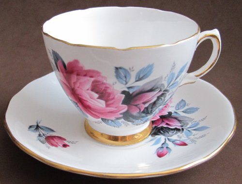 Colclough Bone China TEA CUP & SAUCER #7987 (Ridgway Circa 1950's England)