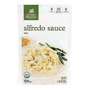 Simply Organic Certified Organic Mix Alfredo Sauce