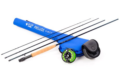 Allen Fly Fishing - Prelude Rod & ATS Reel Ready to Fish Combo (9' 8wt Combo)