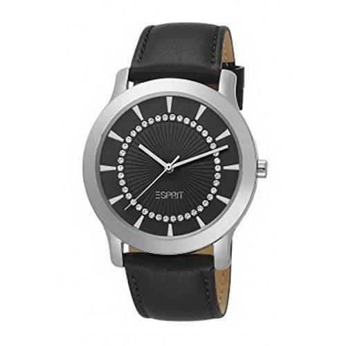 Esprit Ladies Carmel Black Analog Casual Quartz Watch NWT ES104502001