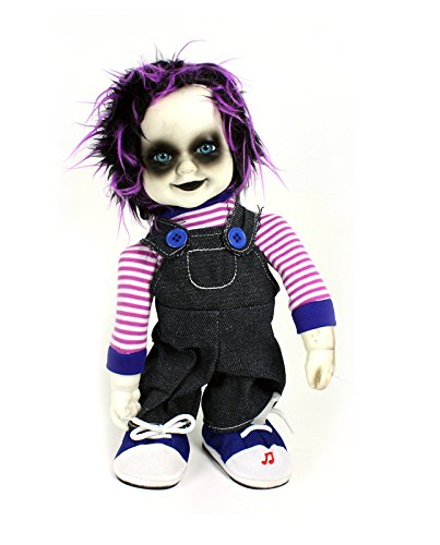 Zombie Doll Adult Costumes (Animated Zombie Doll with Sound (Purple))