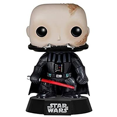 Funko POP Star Wars: Unmasked Darth Vader Action Figure: Funko Pop! Star Wars:: Toys & Games