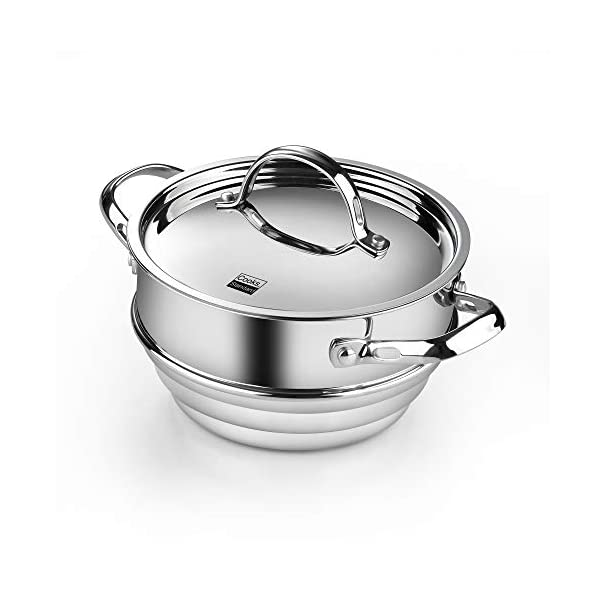 Cooks Standard Classic Stainless Steel Cookware Set, 10- Pieces, Silver 6