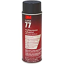 3M 77 Super Multipurpose Adhesive Aerosol, Clear 16.7 Oz. Aerosol Can