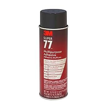 Amazon Com 3m 77 Super Multipurpose Adhesive Aerosol