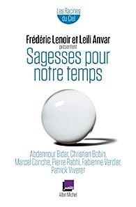 Sagesses pour notre temps par Frédéric Lenoir