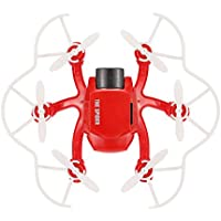 126C Micro Quadcopter With 2MP Camera 4CH 2.4G 6-Axis Headless Mode One-key Return RC Hexacopter Drone RTF Mode 2 - Red