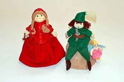 Amazon com: Cloth toys cloth book cloth doll makeover doll