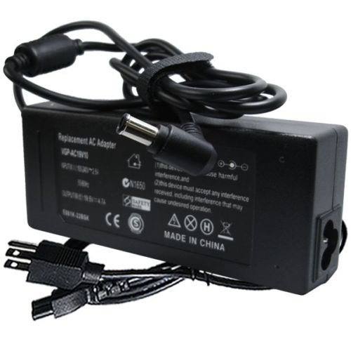 AC ADAPTER CHARGER SUPPLY FOR SONY VAIO VGN-NS140E -
